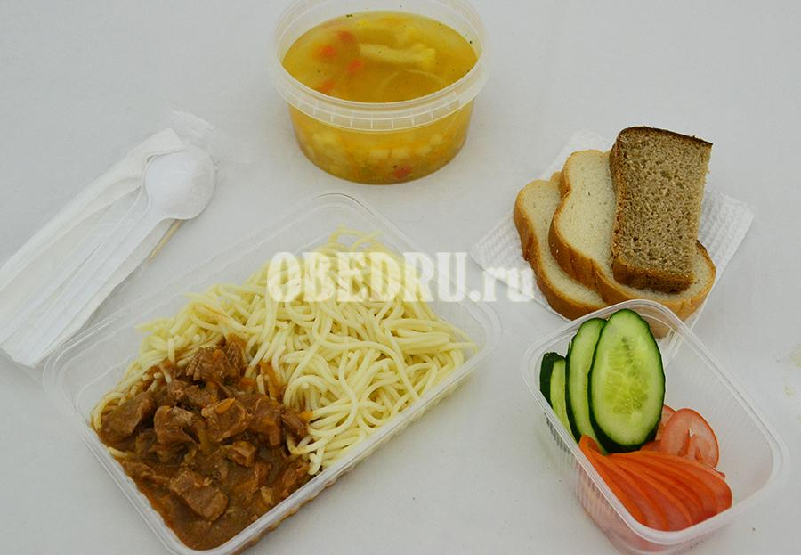 Доставка детских обедов