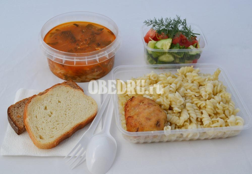 Комплексные обеды для строителей